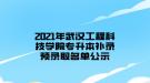 2021年武汉工程科技学院专升本补录预录取名单公示
