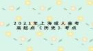 2021年上海成人高考高起点《历史》考点:公车上书